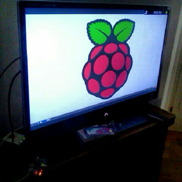 Raspberry Pi is in the house